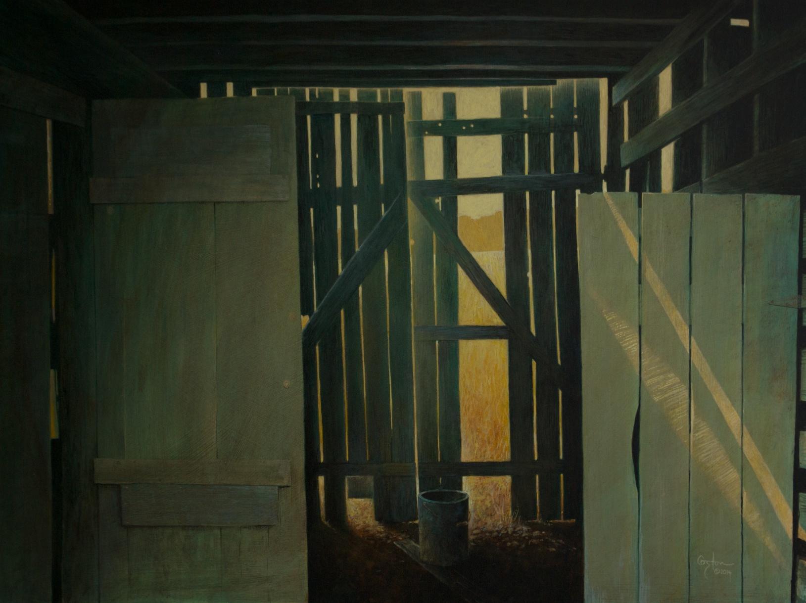 Mondrian's Barn