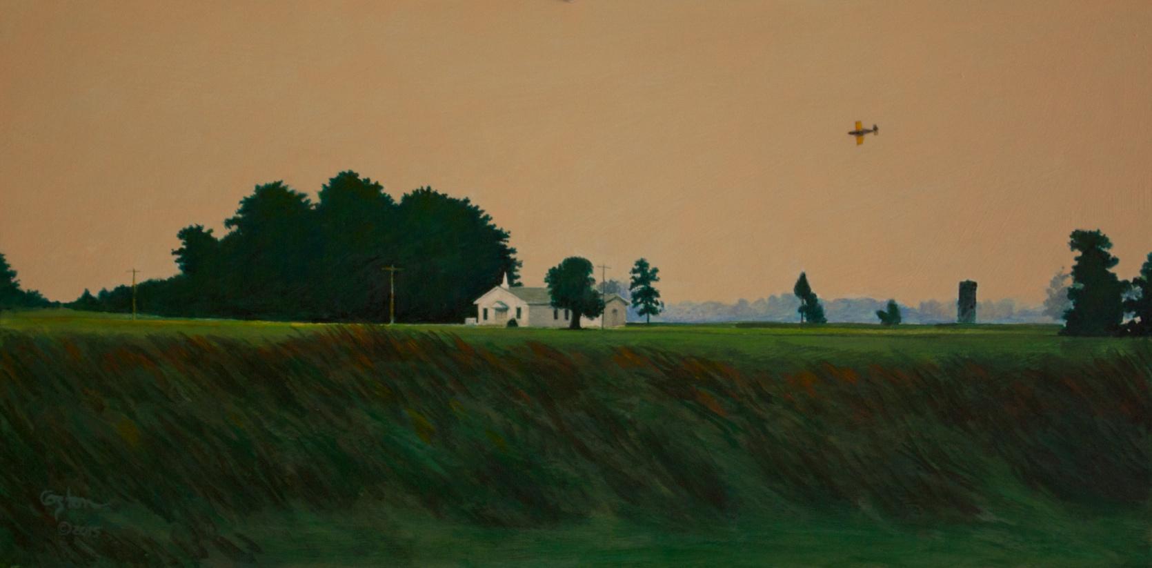 Early Morning Flight, Daniel Coston, 2014