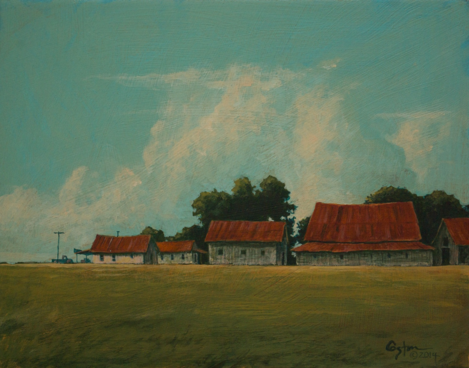 From Plantation to Store, Daniel Coston, 2014