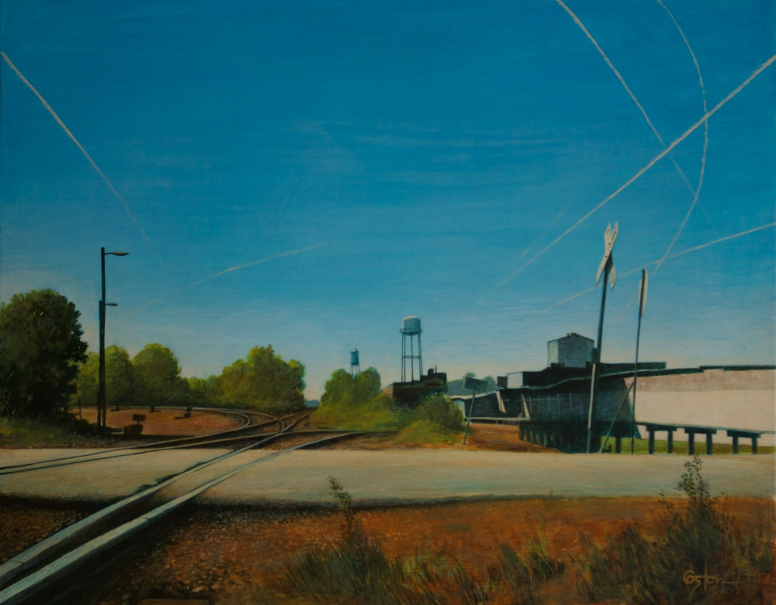 Old Tracks and New, Daniel Coston, 2015