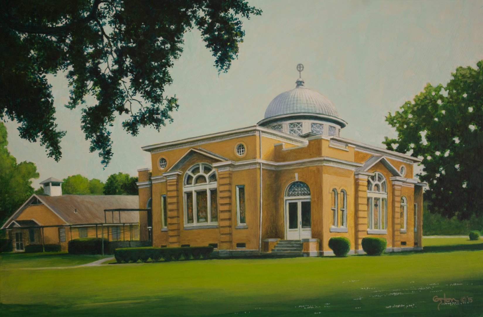 Tillar Methodist Church, Daniel Coston, 2015
