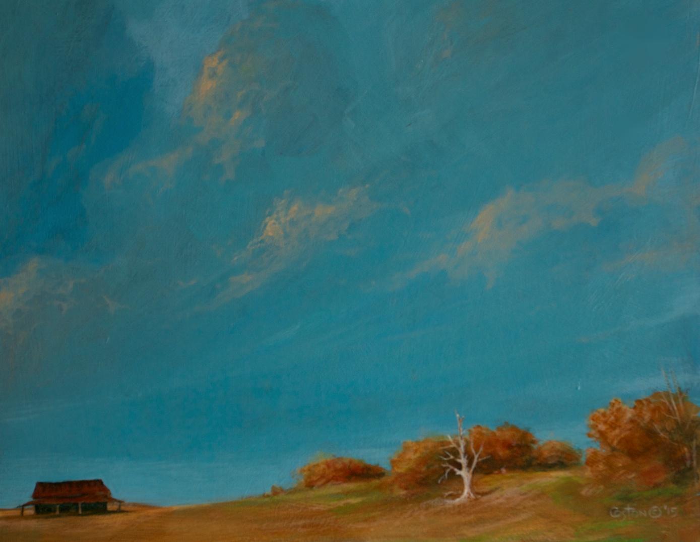 Under Blue Clouds, Daniel Coston, 2015