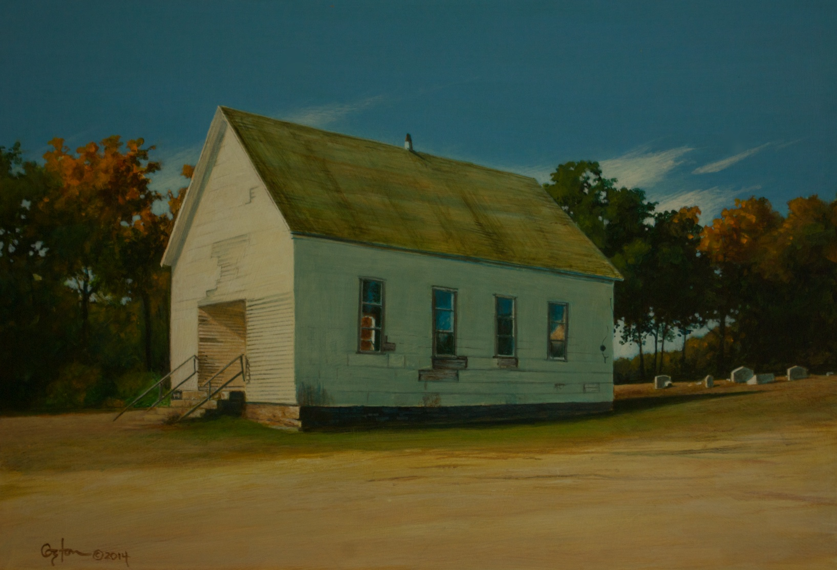 Zinnamon Church, Daniel Coston, 2014