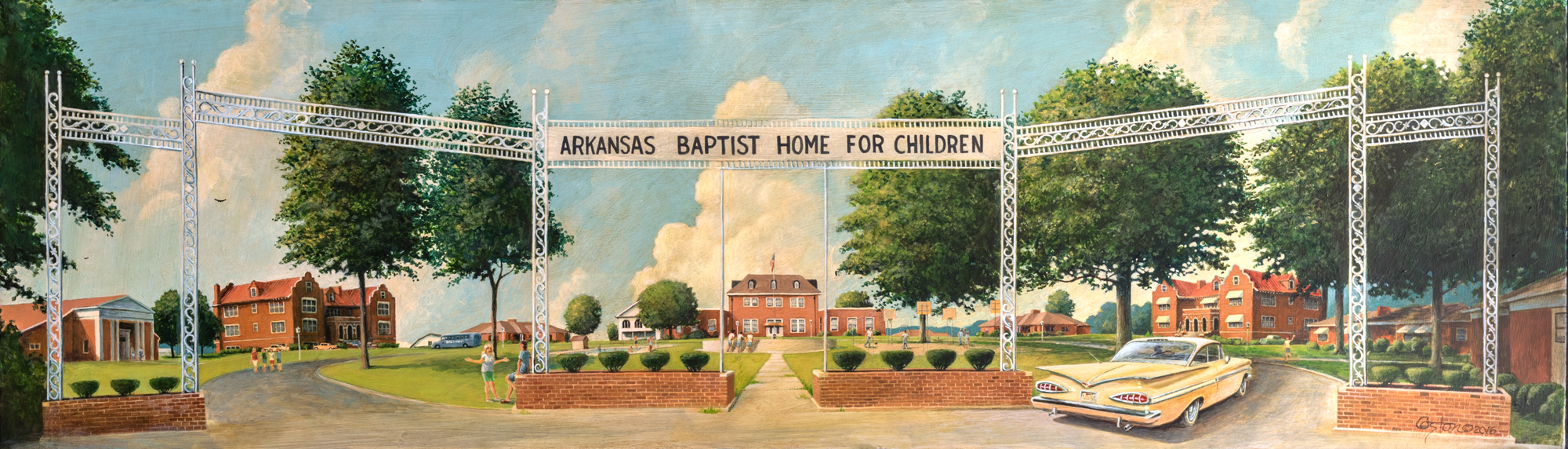 Commission, Monticello, Baptist, orphanage